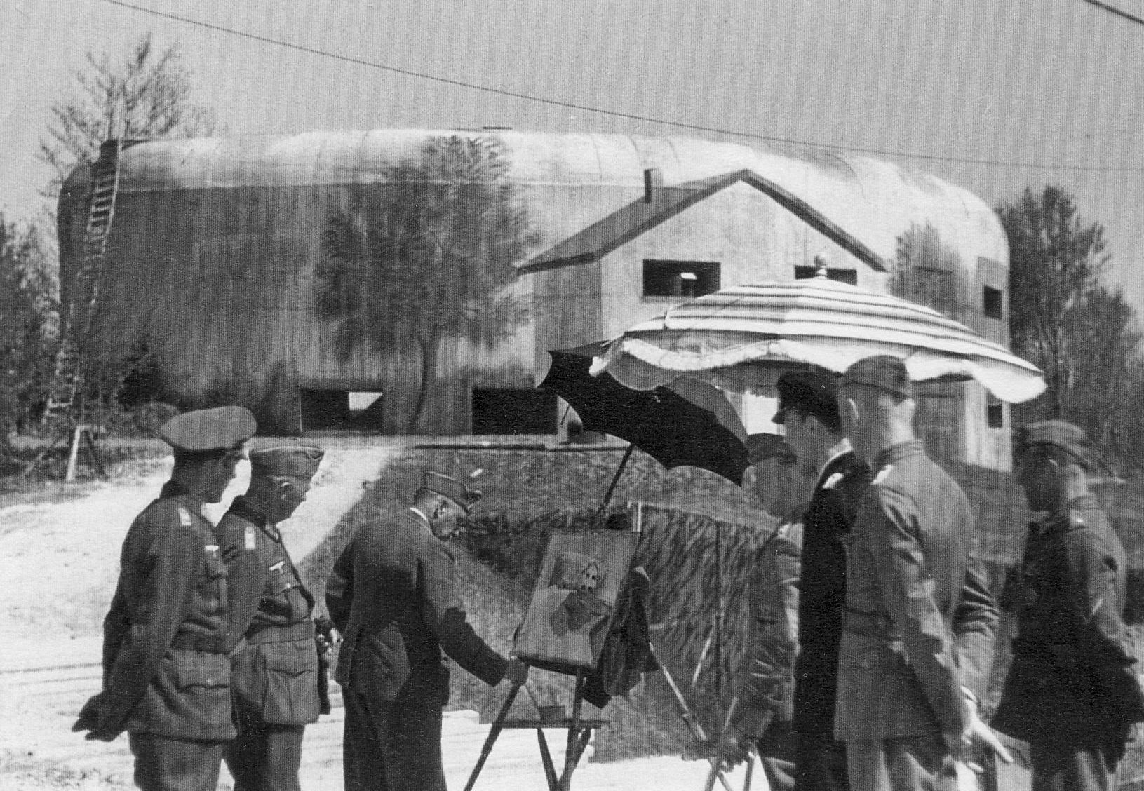 Vollbehr painting Bt Todt. (© Bundesarchiv)