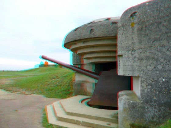 Longues sur Mer in stereo. (Photo: Wim Hoppenbrouwers)